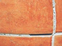 Οριζόντιος ορθογώνιος κεραμωμένος τοίχος στο λουτρό στοκ φωτογραφία