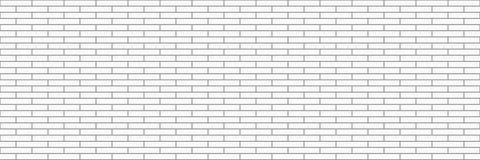οριζόντιος σύγχρονος άσπρος τουβλότοιχος για το σχέδιο και το υπόβαθρο, VE Στοκ εικόνες με δικαίωμα ελεύθερης χρήσης