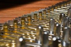 οριζόντιο καλώδιο πιάνων στοκ εικόνες