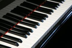 οριζόντιο πιάνο πληκτρολ&o στοκ φωτογραφίες