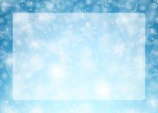 Οριζόντιο πλαίσιο Χριστουγέννων - απεικόνιση Στοκ εικόνα με δικαίωμα ελεύθερης χρήσης