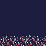 Οριζόντιο σχέδιο φρούτων Στοκ εικόνες με δικαίωμα ελεύθερης χρήσης