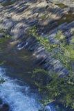Ορμητικά σημεία ποταμού και βράχοι, ποταμός δικράνων βουνών, Οκλαχόμα Στοκ Εικόνες