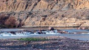 Ορμητικά σημεία ποταμού ποταμών του Αρκάνσας στοκ εικόνες με δικαίωμα ελεύθερης χρήσης