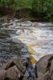 Ορμητικά σημεία ποταμού ποταμών Στοκ φωτογραφίες με δικαίωμα ελεύθερης χρήσης