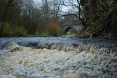 Ορμητικά σημεία ποταμού ποταμών Στοκ εικόνες με δικαίωμα ελεύθερης χρήσης