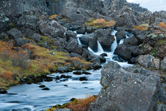 Ορμητικά σημεία ποταμού στην περιοχή της ΟΥΝΕΣΚΟ Στοκ εικόνες με δικαίωμα ελεύθερης χρήσης