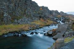 Ορμητικά σημεία ποταμού στην περιοχή της ΟΥΝΕΣΚΟ Στοκ Φωτογραφίες