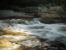 Ορμητικά σημεία ποταμού στο Τζάκσον, NH Στοκ Φωτογραφίες