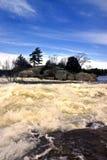 ορμητικά σημεία ποταμού 1 Στοκ Φωτογραφίες
