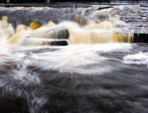 ορμητικά σημεία ποταμού Στοκ εικόνες με δικαίωμα ελεύθερης χρήσης