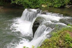 ορμητικά σημεία ποταμού στοκ εικόνα