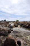 ορμητικά σημεία ποταμού Στοκ φωτογραφία με δικαίωμα ελεύθερης χρήσης
