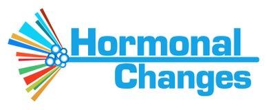 Ορμονικός ζωηρόχρωμος γραφικός φραγμός αλλαγών Στοκ φωτογραφία με δικαίωμα ελεύθερης χρήσης