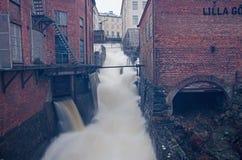 Ορμώντας νερό Στοκ εικόνα με δικαίωμα ελεύθερης χρήσης
