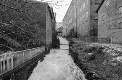 Ορμώντας νερό Στοκ Εικόνες