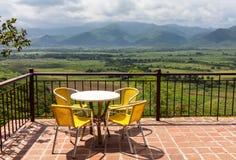 Οροσειρά έλξη της Κούβας Maestra στοκ εικόνα