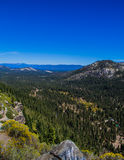 Οροσειρά βουνά βόρεια Καλιφόρνια της Νεβάδας Στοκ εικόνα με δικαίωμα ελεύθερης χρήσης