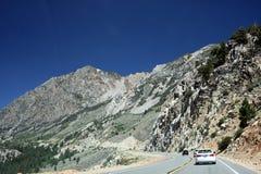 Οροσειρά βουνά της Νεβάδας έξω από το εθνικό πάρκο Yosemite Στοκ φωτογραφίες με δικαίωμα ελεύθερης χρήσης
