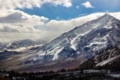 Οροσειρά βουνά της Νεβάδας Στοκ Εικόνες