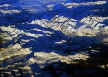 Οροσειρά βουνά της Νεβάδας Στοκ εικόνες με δικαίωμα ελεύθερης χρήσης
