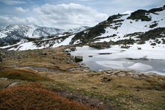 οροσειρά βουνών de guadarrama Στοκ Εικόνες