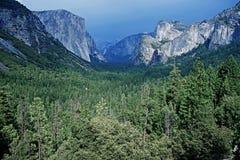 Οροσειρά Νεβάδα Yosemite Στοκ Εικόνα