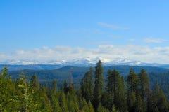 Οροσειρά σειρά κρυστάλλου της Νεβάδας Στοκ φωτογραφία με δικαίωμα ελεύθερης χρήσης