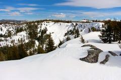 Οροσειρά στην άρρωστη πίσω χώρα ares Καλιφόρνια Tahoe Στοκ Φωτογραφία