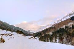 Οροσειρά de& x27 Alano Στοκ εικόνα με δικαίωμα ελεύθερης χρήσης