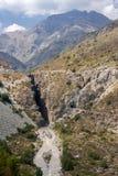 Οροσειρά de Los Άνδεις Χιλή στοκ εικόνα