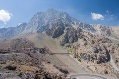 Οροσειρά de Los Άνδεις Χιλή στοκ εικόνες