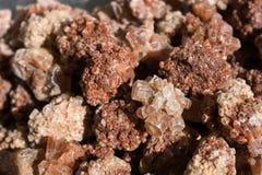 Ορυκτές πέτρες πολύτιμων λίθων Aragonite ως φυσικό βράχο Στοκ εικόνες με δικαίωμα ελεύθερης χρήσης