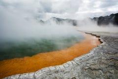 ορυκτή λίμνη σαμπάνιας Στοκ φωτογραφία με δικαίωμα ελεύθερης χρήσης
