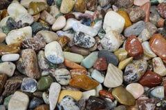 ορυκτή συλλογή πολύτιμων λίθων χρώματος Στοκ Εικόνες