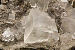Ορυκτό άλας cristal Στοκ εικόνες με δικαίωμα ελεύθερης χρήσης