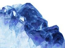 Ορυκτό γεωλογικό υπόβαθρο χαλαζία κρυστάλλου πολύτιμων λίθων Aquamarine Στοκ Εικόνες