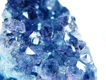 Ορυκτό γεωλογικό υπόβαθρο χαλαζία κρυστάλλου πολύτιμων λίθων Aquamarine Στοκ φωτογραφίες με δικαίωμα ελεύθερης χρήσης