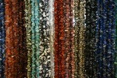 ορυκτό περιδέραιο πολύτιμων λίθων χρώματος Στοκ φωτογραφίες με δικαίωμα ελεύθερης χρήσης