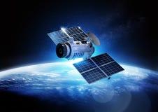 Δορυφόρος επικοινωνιών Στοκ Φωτογραφία