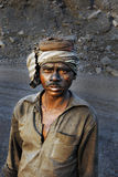 ορυχεία της Ινδίας άνθρακ Στοκ εικόνα με δικαίωμα ελεύθερης χρήσης