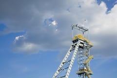 Ορυχείο άξονων Στοκ φωτογραφία με δικαίωμα ελεύθερης χρήσης