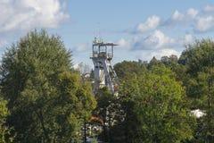 Ορυχείο άξονων στοκ εικόνες