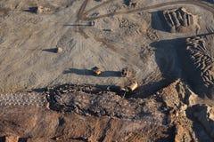 Ορυχείο αμμοχάλικου στοκ εικόνες