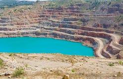Ορυχείο ανοικτών κοιλωμάτων Στοκ φωτογραφία με δικαίωμα ελεύθερης χρήσης