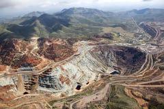 Ορυχείο ανοικτών κοιλωμάτων Στοκ Φωτογραφίες