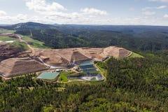 Ορυχείο ανοικτών κοιλωμάτων Στοκ εικόνες με δικαίωμα ελεύθερης χρήσης