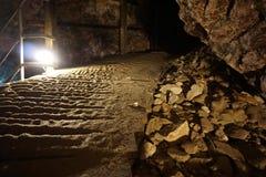 Ορυχείο ασβεστόλιθων Στοκ εικόνες με δικαίωμα ελεύθερης χρήσης