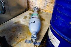 Ορυχείο βομβών στοκ φωτογραφία με δικαίωμα ελεύθερης χρήσης