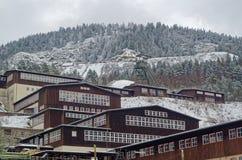 Ορυχείο βουνών Rammelsberg, περιοχή παγκόσμιων κληρονομιών της ΟΥΝΕΣΚΟ σε Goslar, Γερμανία Στοκ Εικόνα
